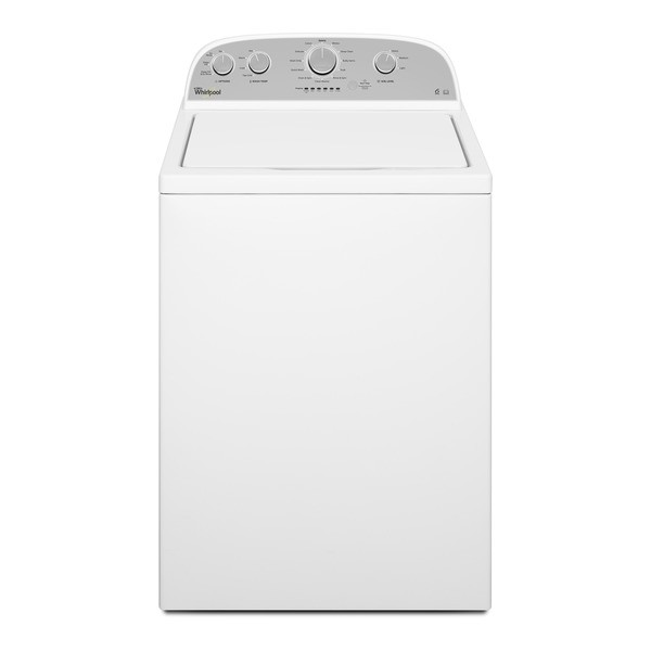 Whirlpool 3LWTW4815FW Commercial American Style 6th Sense Top Loading Washing Machine