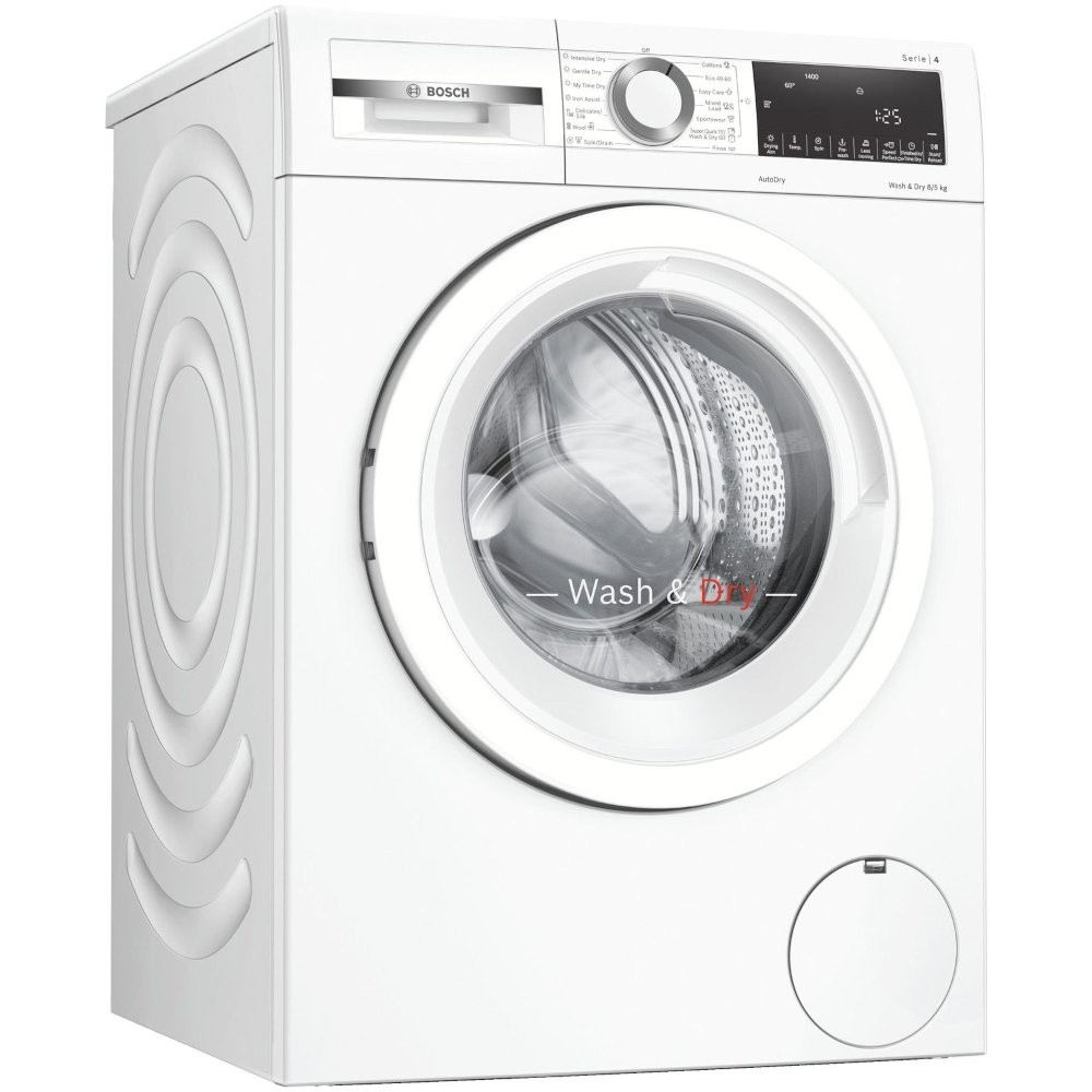 Bosch WNA134U8GB Washer-Dryer  8kg wash 5kg dry & 1400 spin speed