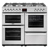 Belling Cookcentre 100DFT Professional Steel Range Cooker