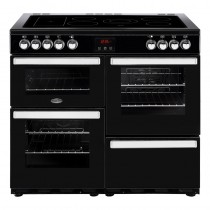 Belling Cookcentre 100E Black Range Cooker