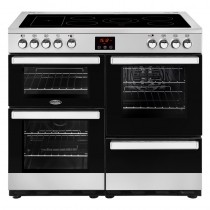 Belling Cookcentre 100E Steel Range Cooker