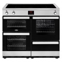 Belling Cookcentre 100EI Steel Range Cooker