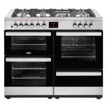 Belling Cookcentre 110DFT 110cm Steel Range Cooker