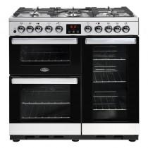 Belling Cookcentre Deluxe 90DFT 90cm Steel Range Cooker
