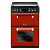 Stoves Richmond 600G 60cm Dual Fuel Range Cooker Red