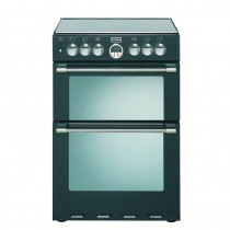 Stoves Sterling 600DF 60cm Dual Fuel Range Cooker Black