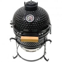 "Kamado Grill 13"" Ceramic Egg Style BBQ"