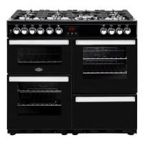 Belling Cookcentre 100DFT Black Range Cooker