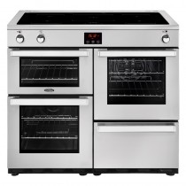 Belling Cookcentre 100EI Professional Steel Range Cooker