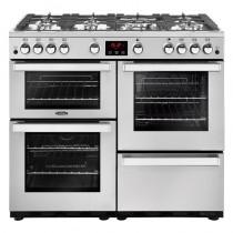 Belling Cookcentre 100G Professional Steel Range Cooker