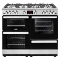 Belling Cookcentre 100G Steel Range Cooker