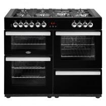 Belling Cookcentre 110DFT Black Range Cooker