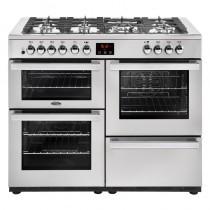 Belling Cookcentre 110DFT Professional Steel Range Cooker
