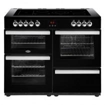 Belling Cookcentre 110E Black Range Cooker