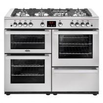 Belling Cookcentre 110G Professional Steel Range Cooker