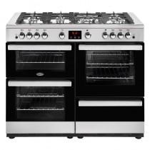 Belling Cookcentre 110G Steel Range Cooker
