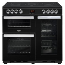 Belling Cookcentre 90E 90cm Black Range Cooker