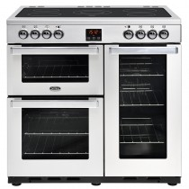 Belling Cookcentre 90E 90cm Professional Steel Range Cooker