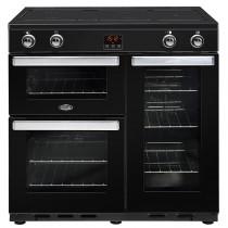 Belling Cookcentre 90EI Black Range Cooker