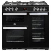 Belling Cookcentre 90G Black Range Cooker