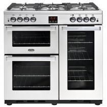 Belling Cookcentre 90G Professional Steel Range Cooker