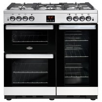 Belling Cookcentre 90G Steel Range Cooker