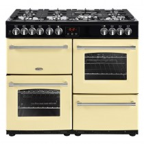 Belling Farmhouse 100DFT Cream Range Cooker