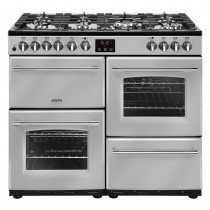 Belling Farmhouse 100DFT Silver Range Cooker