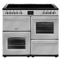 Belling Farmhouse 100E Silver Range Cooker