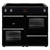 Belling Farmhouse 100EI Black Range Cooker