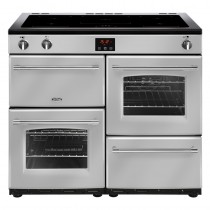 Belling Farmhouse 100EI Silver Range Cooker