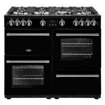 Belling Farmhouse 100G Black Range Cooker