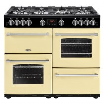 Belling Farmhouse 100G Cream Range Cooker