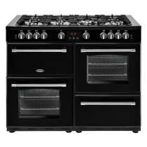 Belling Farmhouse 110DFT Black Range Cooker