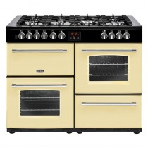 Belling Farmhouse 110DFT Cream Range Cooker