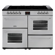 Belling Farmhouse 110E Silver Range Cooker