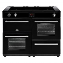Belling Farmhouse 110EI Black Range Cooker