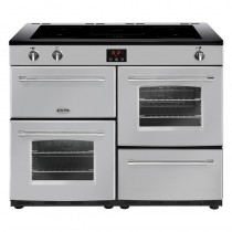 Belling Farmhouse 110EI Silver Range Cooker