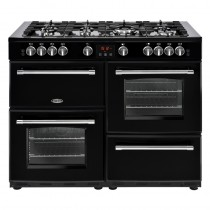 Belling Farmhouse 110G Black Range Cooker