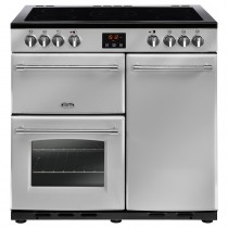 Belling Farmhouse 90E 90cm Silver Range Cooker