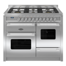Britannia Delphi 110cm XG RC11XGGDES Dual Fuel Range Cooker