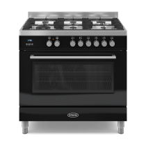 Britannia Q Line 90cm Single RC9SGQLK Dual Fuel Range Cooker