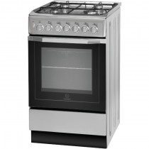 Indesit I5GSH1S Dual Fuel Cooker