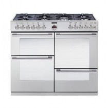 Stoves Sterling S1100DF 110cm Dual Fuel Range Cooker Stainless Steel