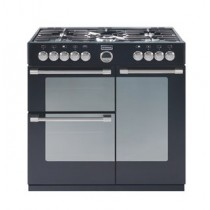 Stoves Sterling S900DF 90cm Dual Fuel Range Cooker Black
