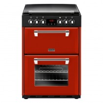 Stoves Richmond 600E 60cm Ceramic Range Cooker Red