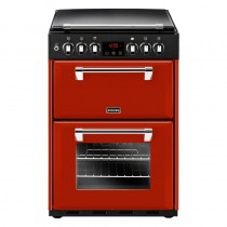 Stoves Richmond 600G 60cm Dual Fuel Range Cooker Red